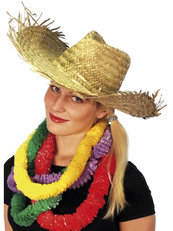 Havajský slaměný klobouk - Párty-výzdoba.cz d4f6c74092